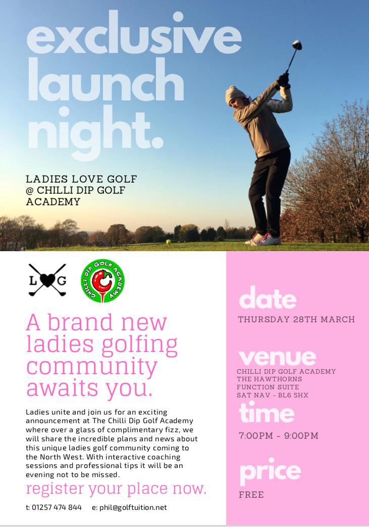 Ladies Love Golf - North West Launch
